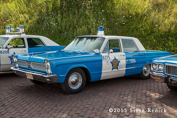 classic vintage Chicago PD Ford sedan