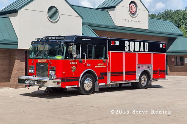 Bartlett & Countryside FPD fire truck