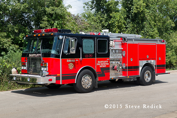 Bartlett & Countryside FPD fire truck