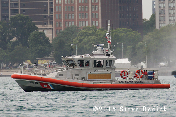 US Coast Guard patrol boat