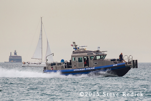 Chicago Police Department Marine Unit boat