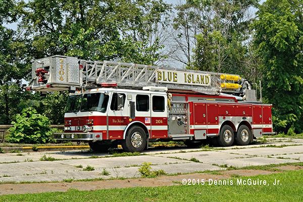 Blue Island FD fire truck