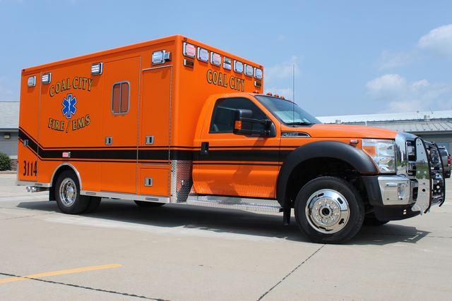 new ambulance for Coal City IL