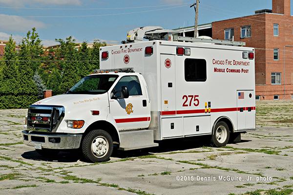Chicago FD Command Van 2-7-5