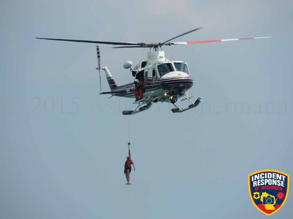 Chicago FD Air Sea Rescue demonstration