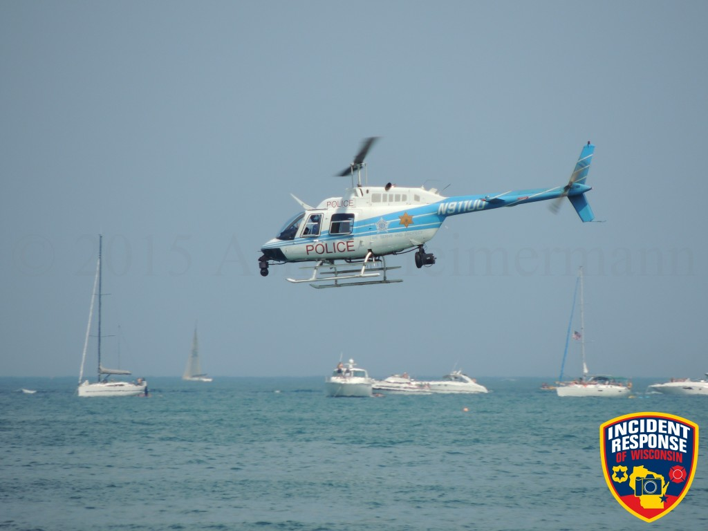 Chicago PD Air Sea Rescue demonstration