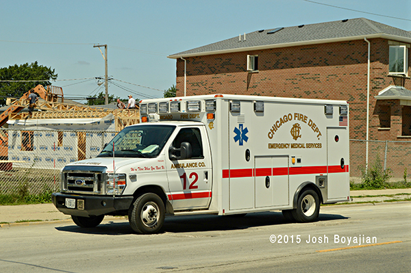 Chicago FD Ambulance 12