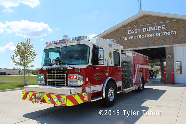 East Dundee FPD fire engine