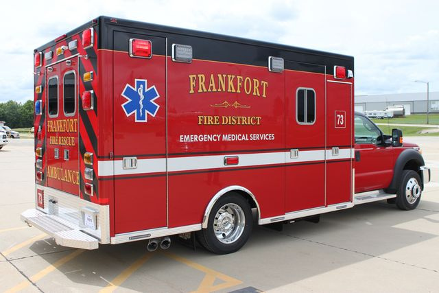 new ambulance for the Frankfort FPD