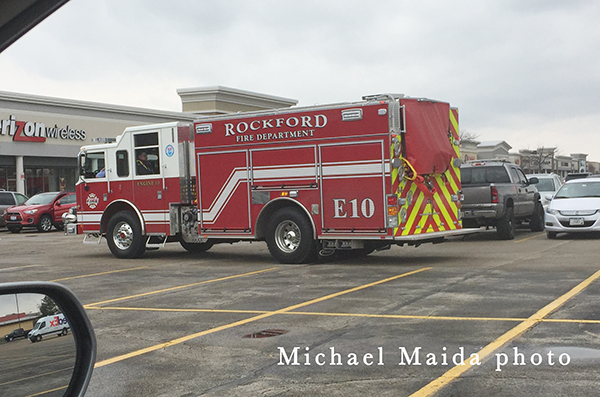 Rockford FD fire engine
