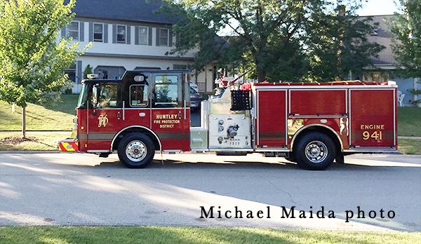 Huntley FPD fire truck
