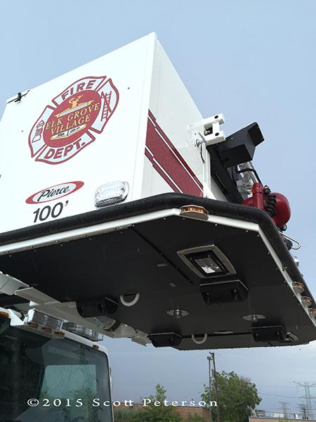 fire truck platform