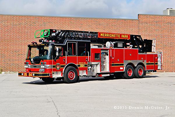 new fire truck for Marionette Park FD
