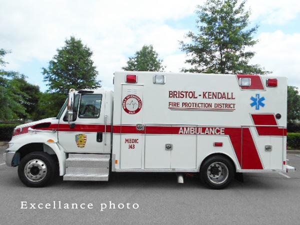 Bristol Kendall FPD ambulance