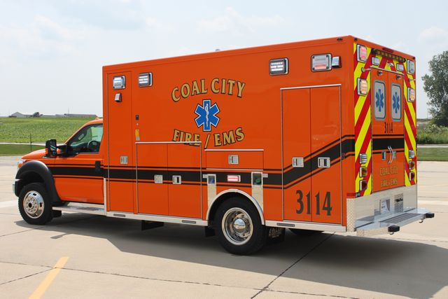 new ambulance for Coal City IL