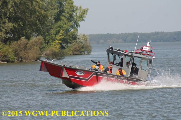 new fire boat for the Green Bay Metro Fire Department