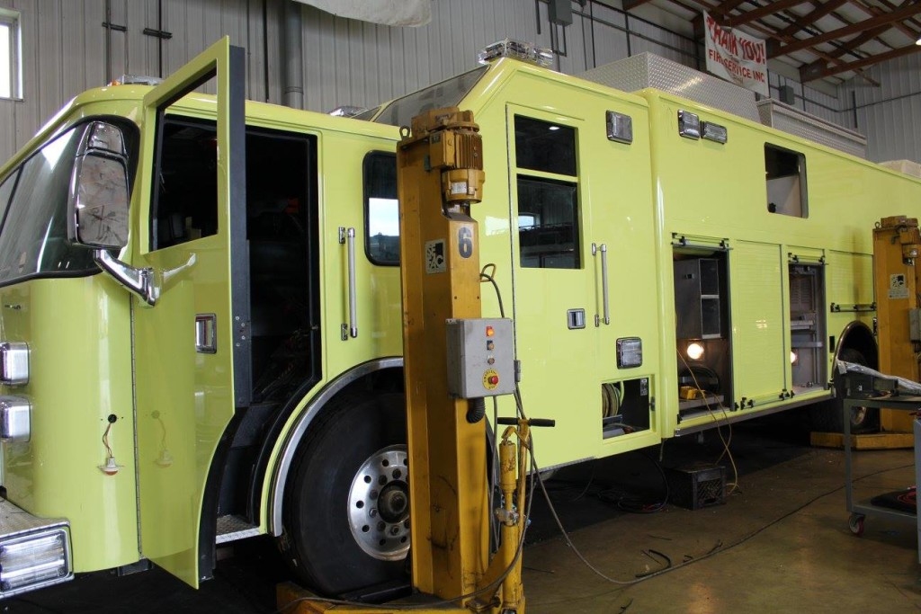 Chicago FD Squad 7 nearing the completion of a major refurbishing