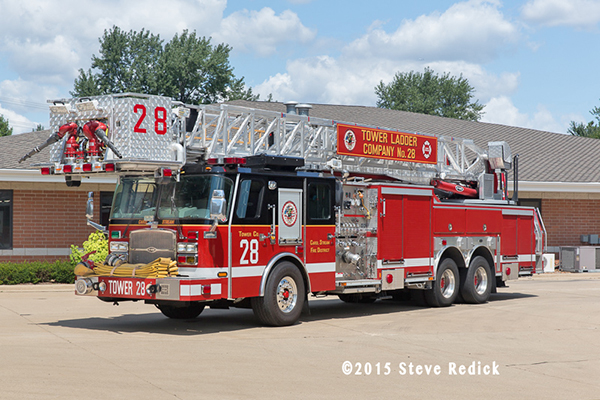 Carol Stream Fire District Tower 28