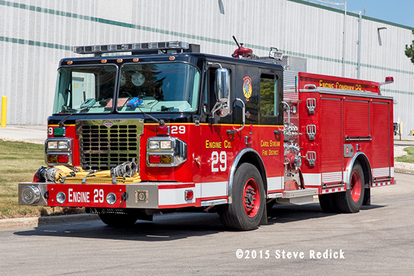 Carol Stream Fire District Engine 29