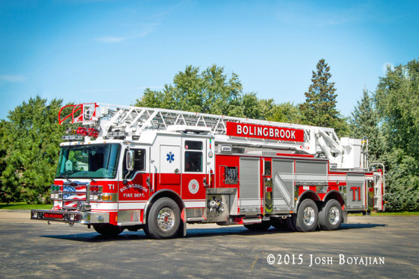 Bolingbrook Fire Department Truck 1