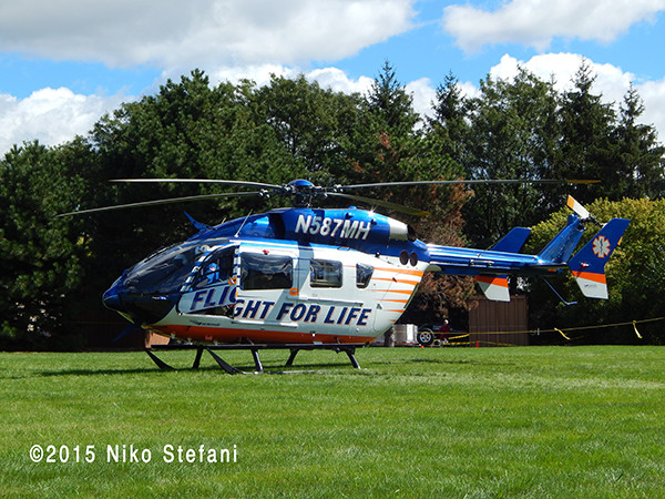 Flight for Life helicopter