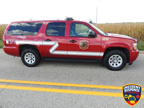 Fire Department Battalion Chief car