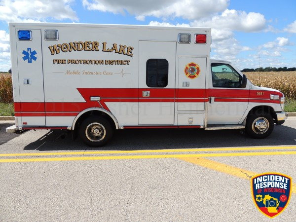 Wonder Lake FD ambulance