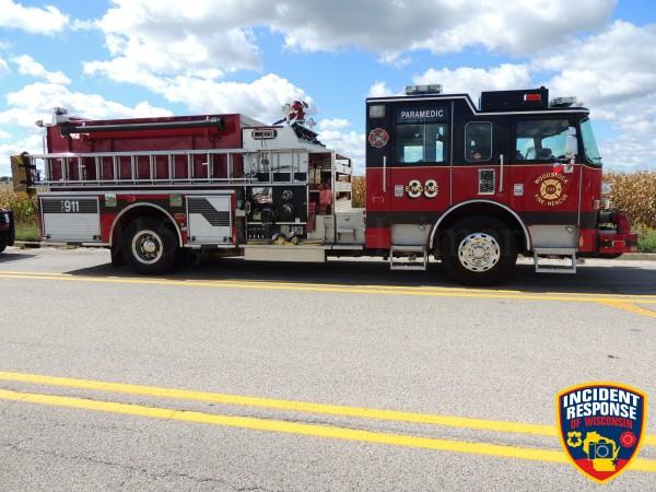Woodstock FD fire engine
