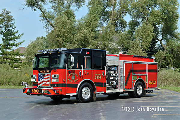 New fire engine for the Palos FPD