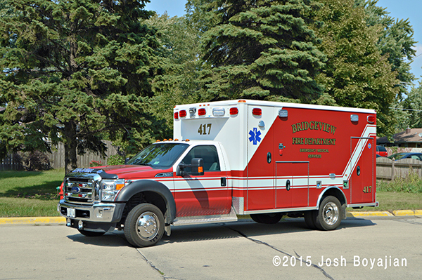 Bridgeview FD ambulance