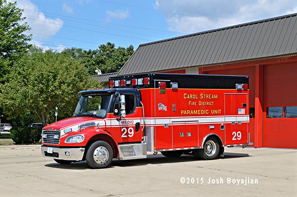 Carol Stream Fire District Medic 2