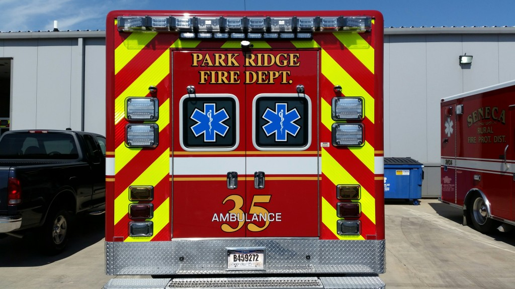 new fire department ambulance