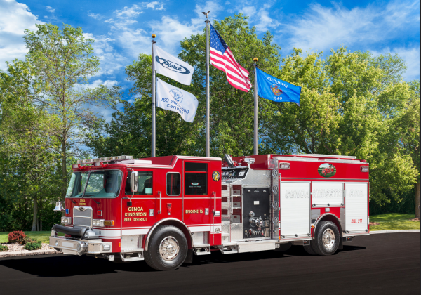 new fire engine for the Genoa-Kingston FPD