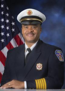 Waukegan Fire Chief Ricco Farrell