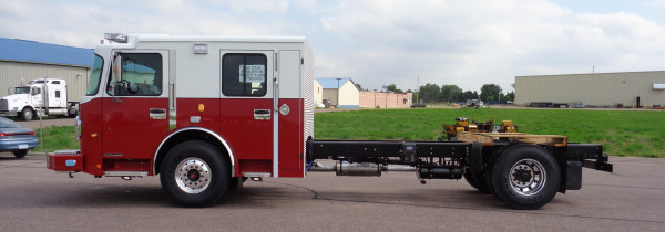fire truck chassis