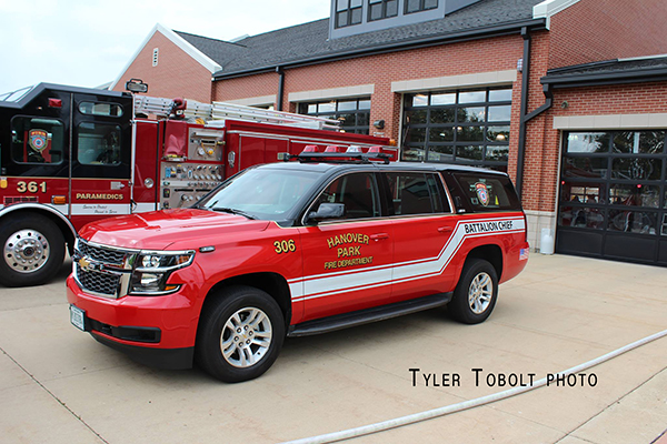 fire departmetn Chevy Suburban