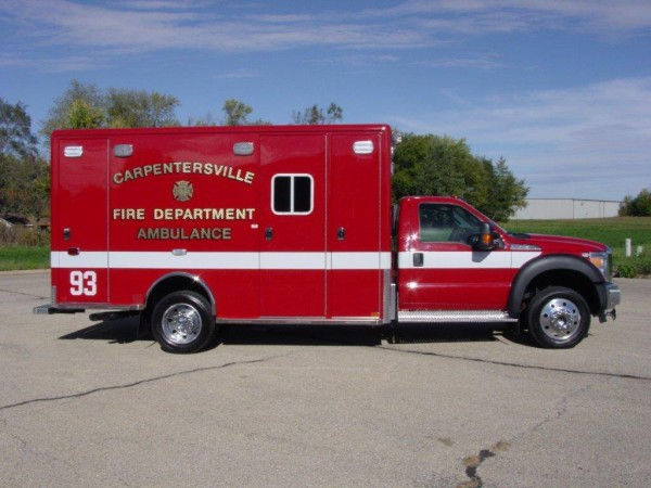 Carpentersville FD ambulance