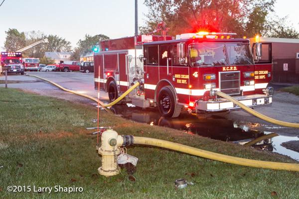 North Chicago FD Pierce Saber fire engine