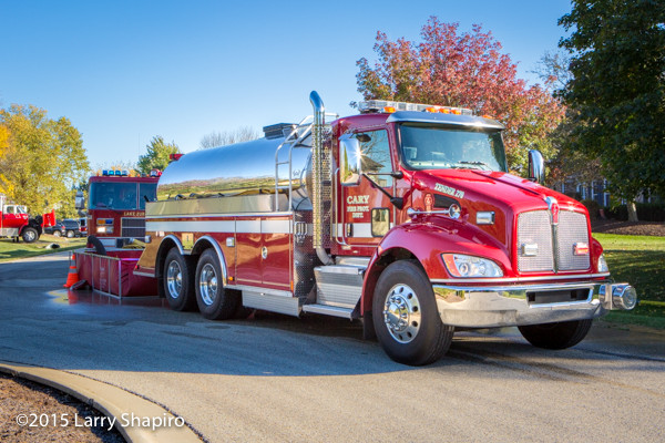Cary Fire District water tender
