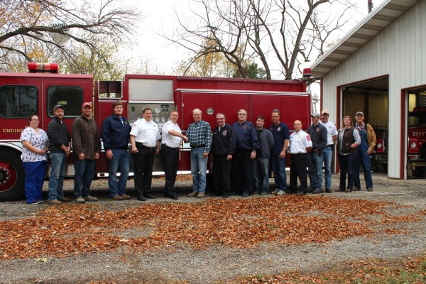 fire department donates fire engine to rural department