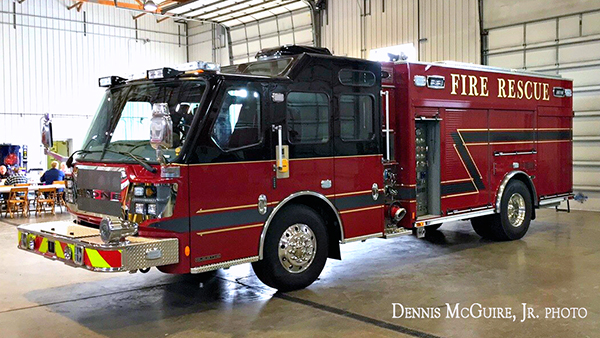 E-ONE Quest HS pumper demo unit