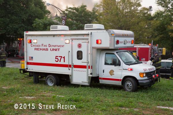Chicago FD rehab unit