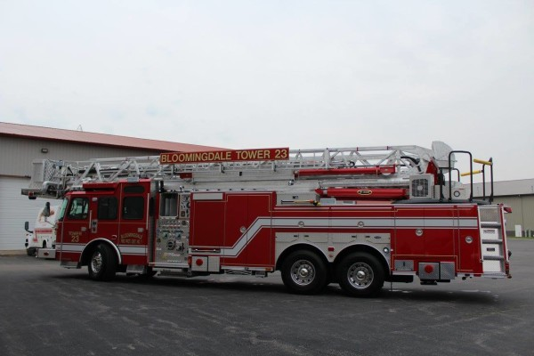E-ONE Cyclone II tower ladder
