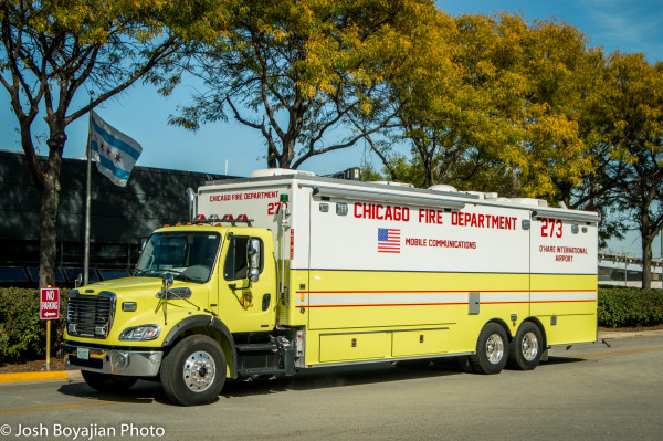 Chicago FD O'Hare Airport mobile communications van