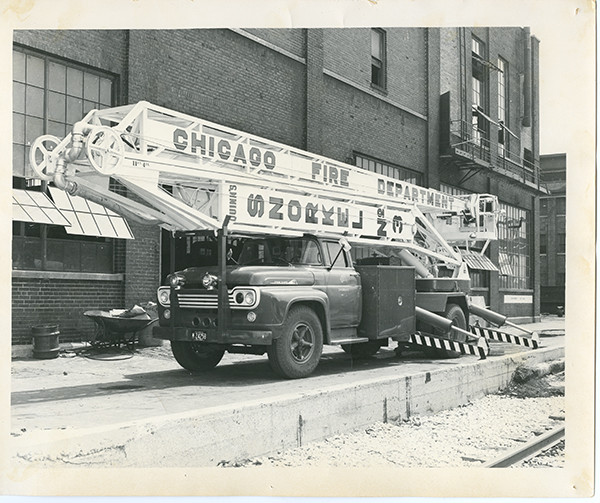 historic Chicago FD Hi-Ranger Snorkel