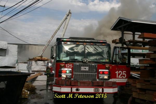 Chicago fire scene