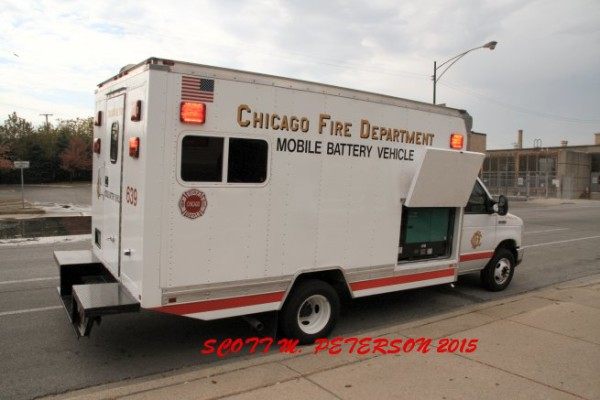Chicago FD Mobile Battery Vehicle.