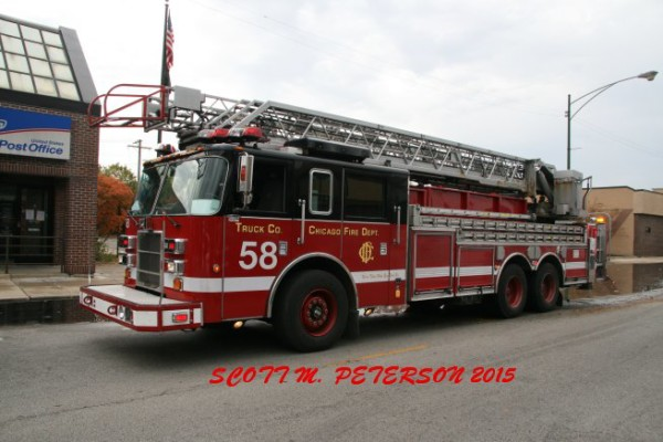 Chicago FD Truck 58