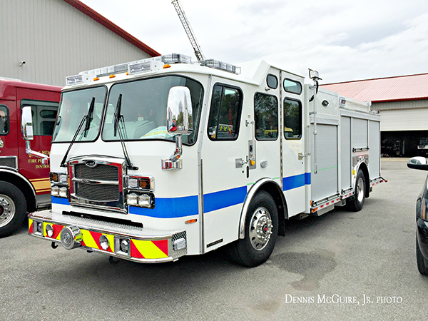 new E-ONE fire engine for Glencoe IL