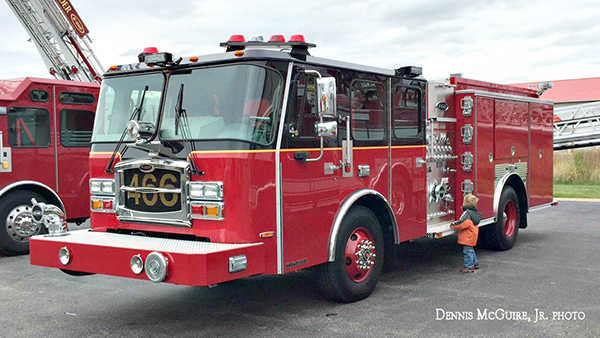 new E-ONE fire engine for Hometown IL